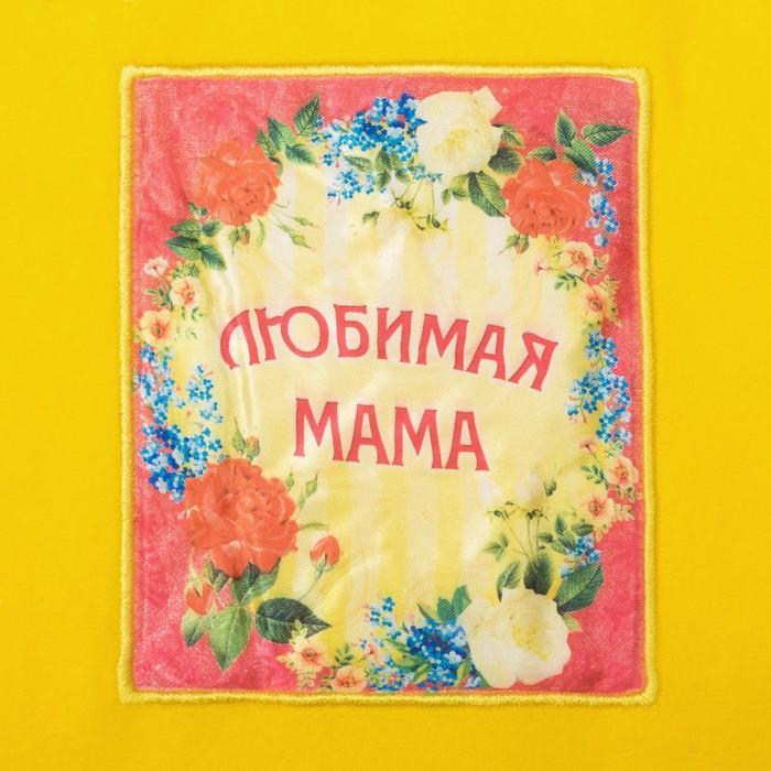 "Плед ""Collorista"" Любимая мама 80х100 см, 100% п/э 180 гр/м2"