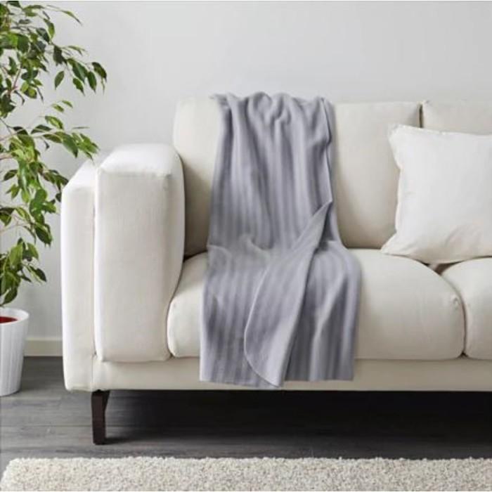 Плед ВИТМУССА, размер 120х160 см, цвет серый