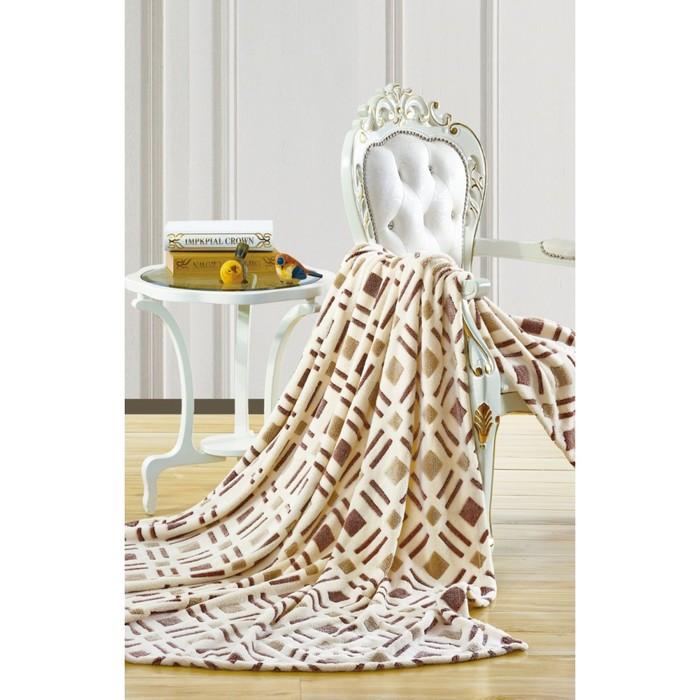 Плед «Бамбук», размер 200х220 см, микрофибра