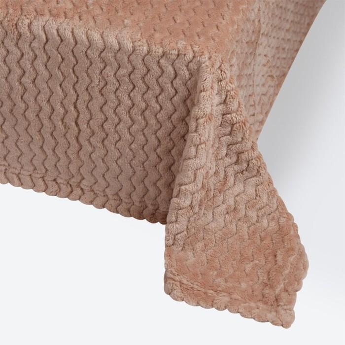 Плед Modern, размер 150 × 200 см, цвет кофейный