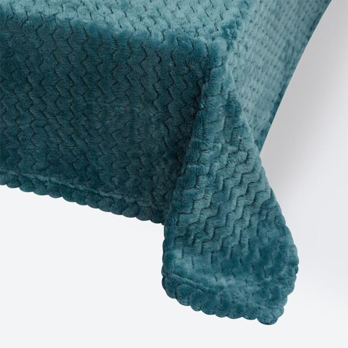 Плед Modern, размер 150 × 200 см, цвет бирюзовый