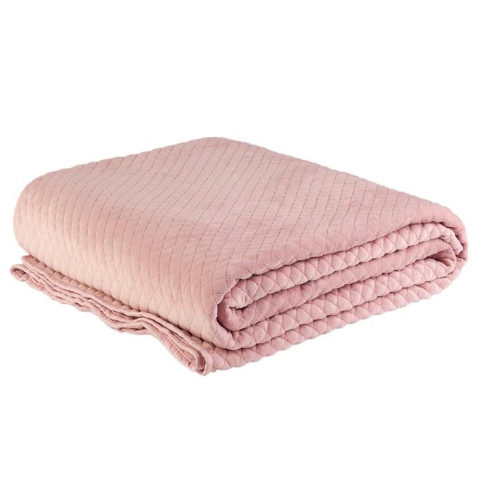 Покрывало стеганое New Pink, 240х220 см