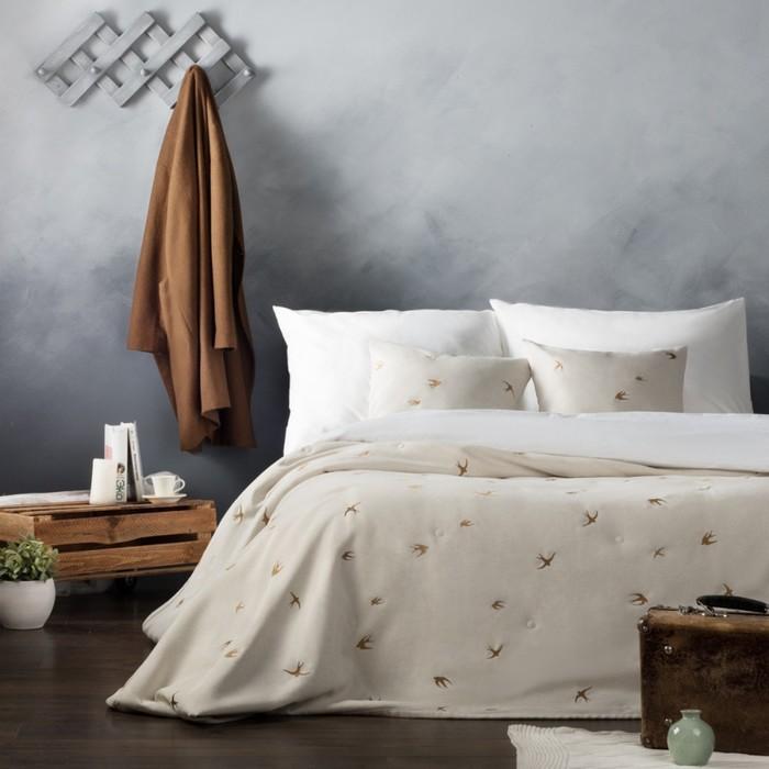 Комплект «Прайм»: покрывало 230 × 250 см, наволочки 45 × 45 см -2 шт, бронзовый