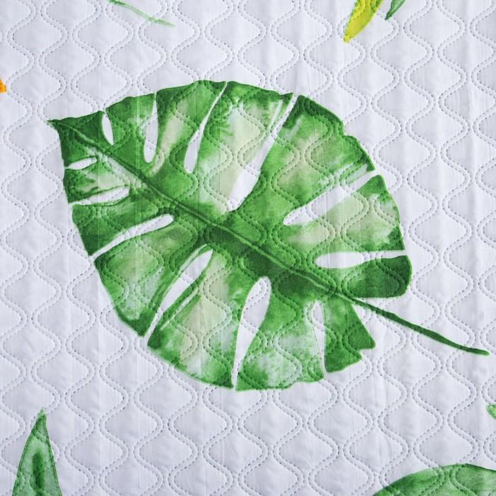 Покрывало Экономь и Я 2 сп «Лимонное настроение», 180х210±5 см, микрофайбер