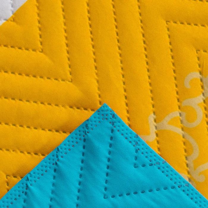 Покрывало Экономь и Я Ультрастеп «Радуга» 240×210 ± 5 см, микрофайбер, 215 г/м², 100% п/э