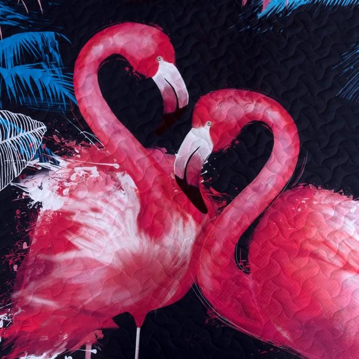 """Покрывало """"Этель"""" 1,5 сп Фламинго, 145х210(+/-2) см, микрофибра"""