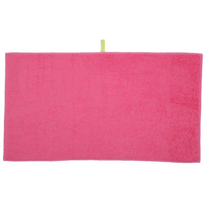 Полотенце Indigo, размер 30 × 50 см, розовый