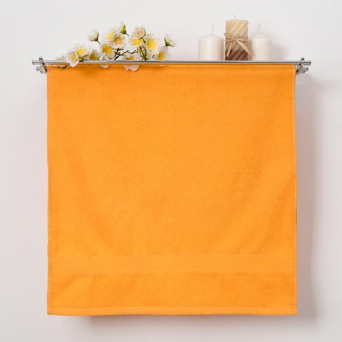 "Полотенце махровое ""Grace""  30х50 см, цв.оранжевый 360 гр/м2, 100% хлопок"