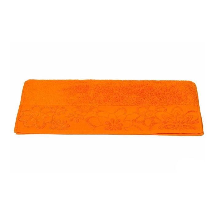 Полотенце Dora, размер 30 × 50, оранжевый