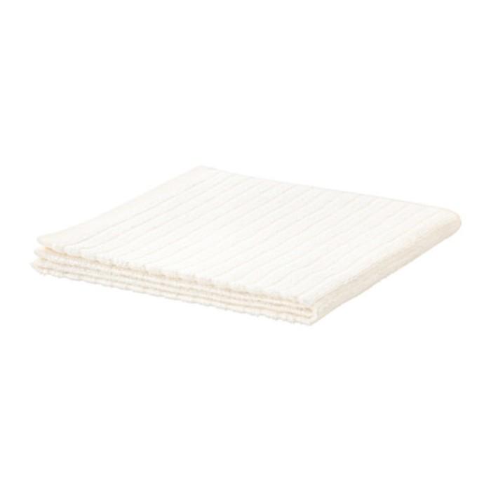 Полотенце ВОГШЁН, размер 50 × 100 см, белый