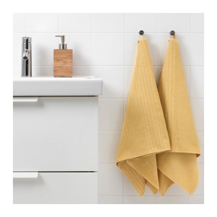 Полотенце ВОГШЁН, размер 50 × 100 см, светло-жёлтый, 390 г/м2