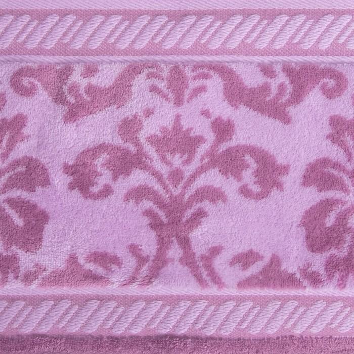 Полотенце махровое Leggende di Algambra ПЦС-602-3038,10000 розовый 50х100 см хл100% 480 гр/м   40977