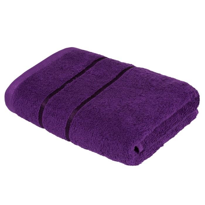 Полотенце «Египетский хлопок», размер 50 × 90 см, фиолетовый