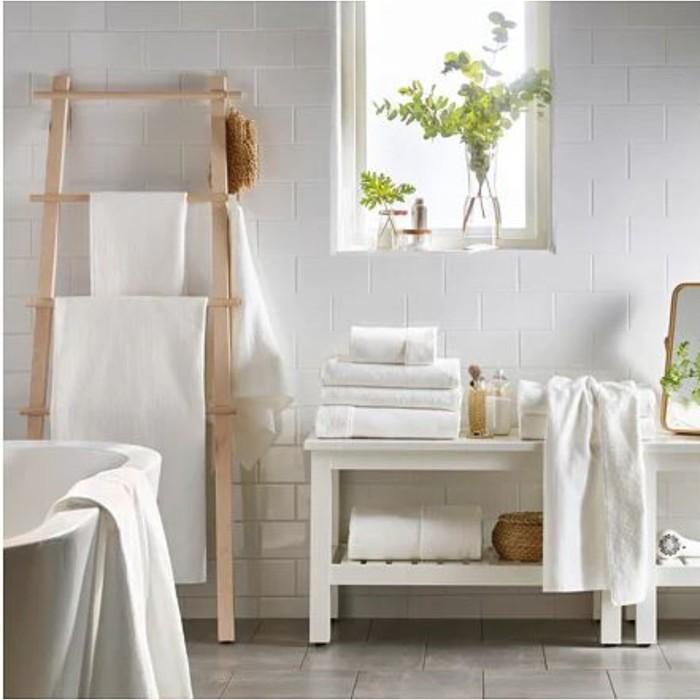 Полотенце САЛЬВИКЕН, размер 50 × 100 см, белый