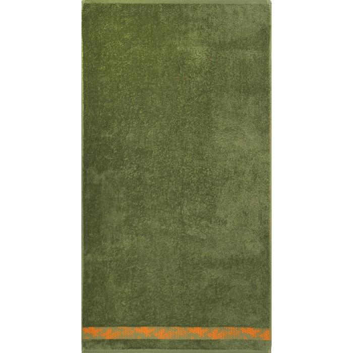 Полотенце махровое Element 70х130 см, 17-0330 зеленый, хлопок 100%, 390 гр/м2