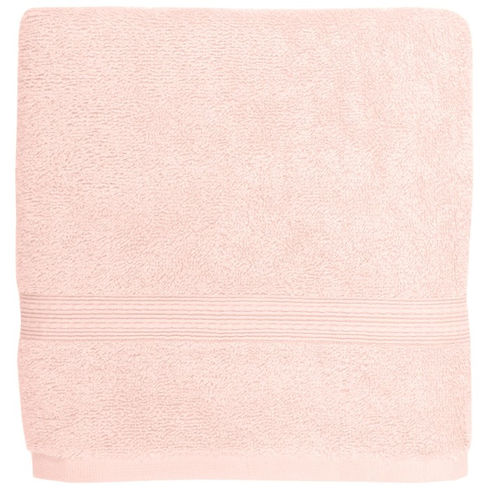 Полотенце Classic, размер 70 × 140 см, нежно-розовый
