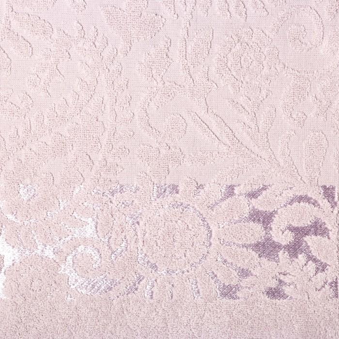 Полотенце махровое Sal 30х50 см, лаванодовый, хлопок 100%, 380 г/м