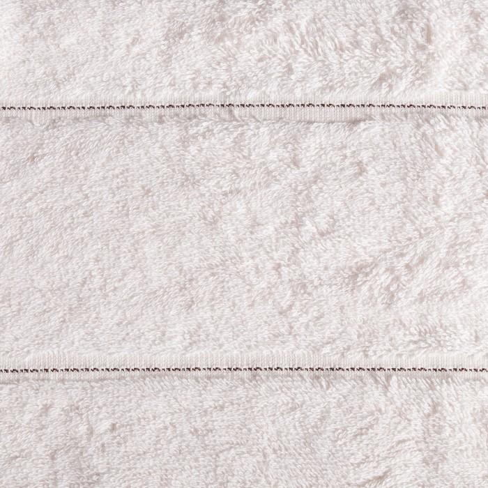 Полотенце ZION, 70х140 см, крем, 450 г/м2