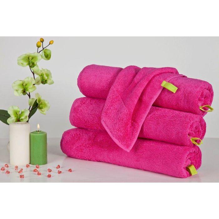 Полотенце Indigo, размер 50 × 90 см, розовый