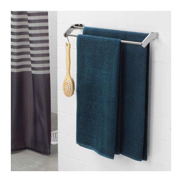 Полотенце ВОГШЁН, размер 70 × 140 см, тёмно-синий