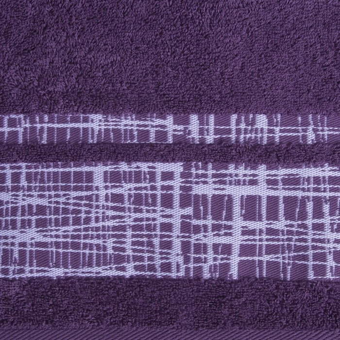 Полотенце махровое Ragnatela ПЦ-3501-3493,18-3615 сирень 70х130 см хл100% 420 гр/м
