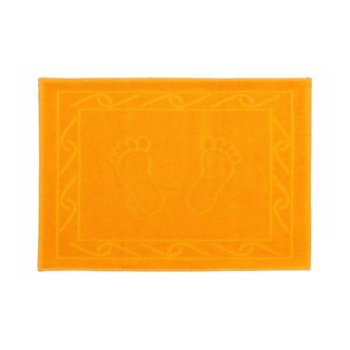 Полотенце для ног Hayal, размер 50x70, тёмно-жёлтый