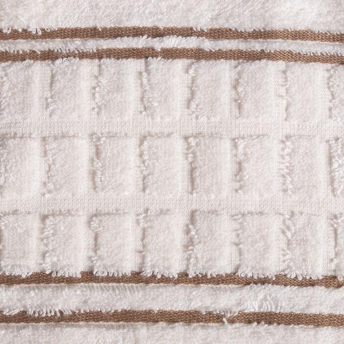 Полотенце FELIS, 70х140 см, крем, 450 г/м2