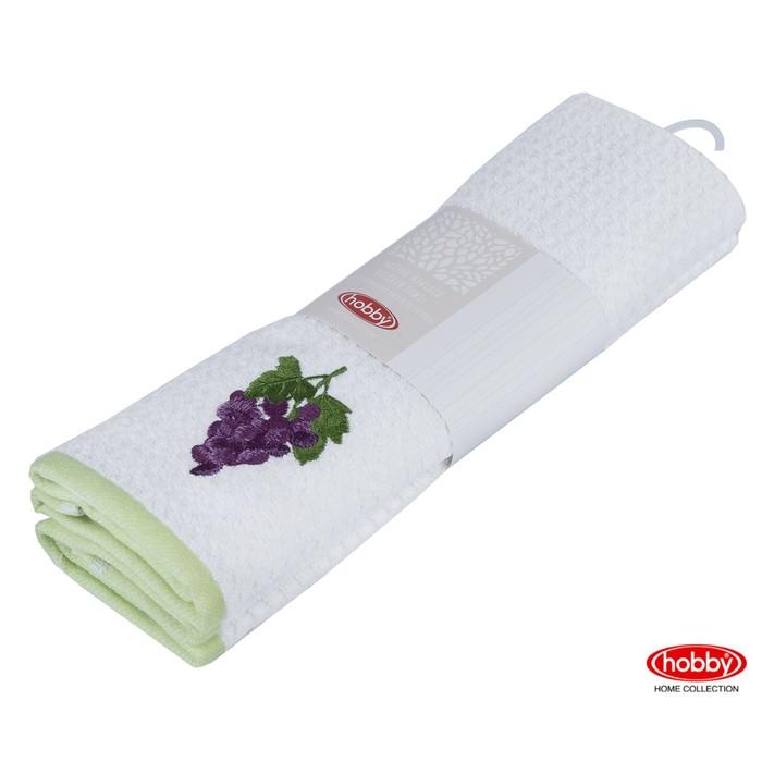 КМП Candy, 40 × 60 см - 2 шт, зелёный/белый
