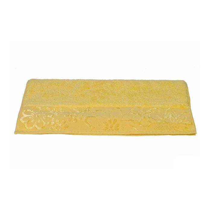 Полотенце Dora, размер 50 × 90, жёлтый