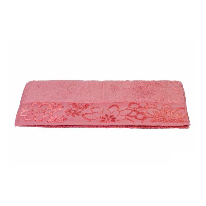 Полотенце Dora, размер 50 × 90, розовый