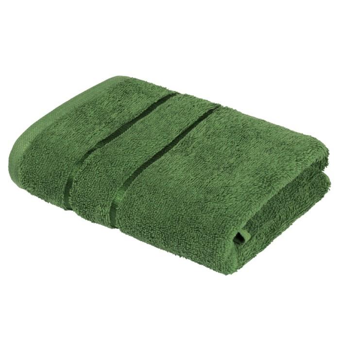 Полотенце «Египетский хлопок», размер 70 × 130 см, зелёный
