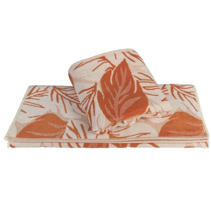 Полотенце Autumn, размер 50 × 90 см, оранжевый