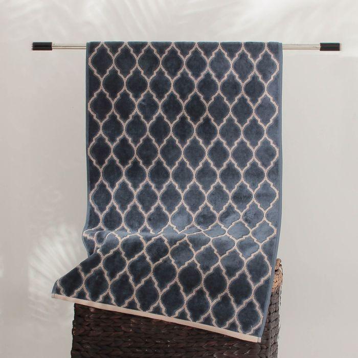 Полотенце махровое Marbella ПЦС-702-2621 цв.10000, 70х140, хл.100%, 470 гр/м