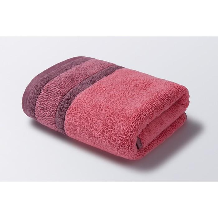 Полотенце «Ориго», размер 50 × 90 см, махра, цвет малиново-сиреневый