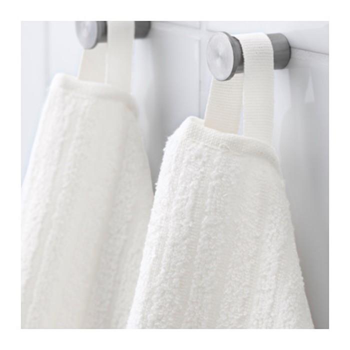 Полотенце ВОГШЁН, размер 100 × 150 см, белый