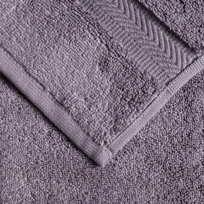 Полотенце Premier MICROCOTTON, 70х140 см, 100% микрокоттон, антрацит, 500 г/м2