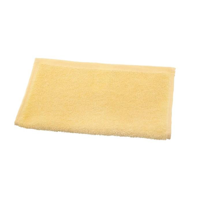 Полотенце махровое 30х30 см, кремовый, хлопок 100%, 360 г/м2