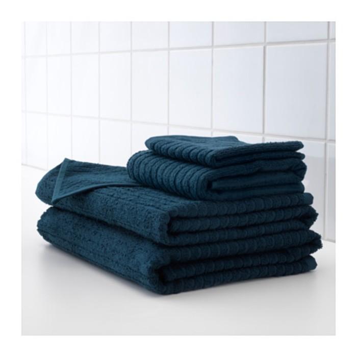 Полотенце ВОГШЁН, размер 100 × 150 см, тёмно-синий