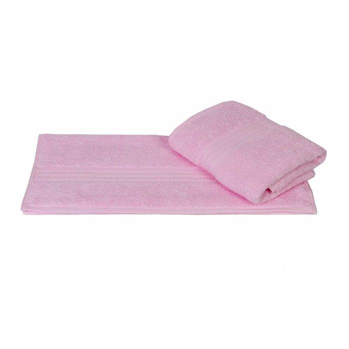 Полотенце Rainbow, размер 70 × 140 см, светло-розовый