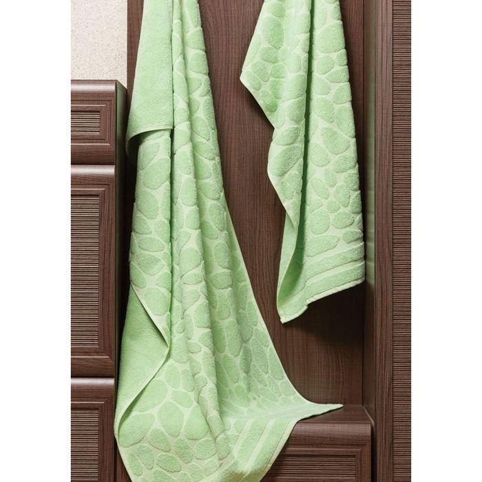 Полотенце Piera, размер 50 × 90 см, зелёный