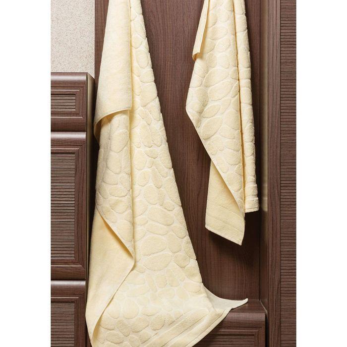 Полотенце Piera, размер 50 × 90 см, ваниль