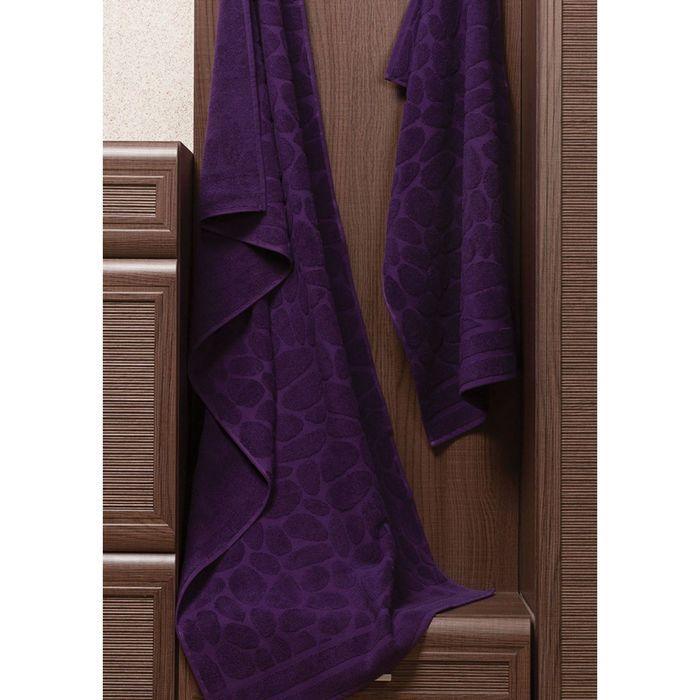 Полотенце Piera, размер 50 × 90 см, фиолетовый