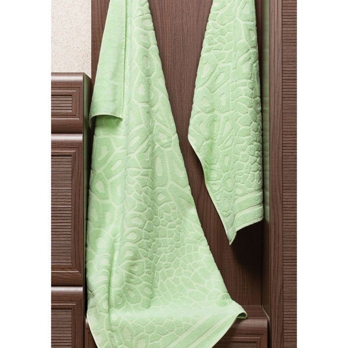 Полотенце Vitra, размер 50 × 90 см, зелёный