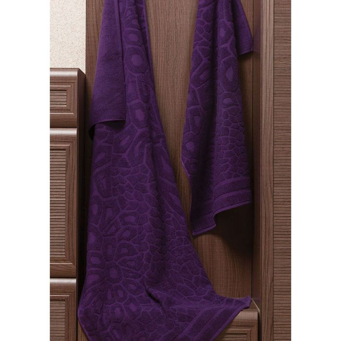 Полотенце Vitra, размер 50 × 90 см, фиолетовый
