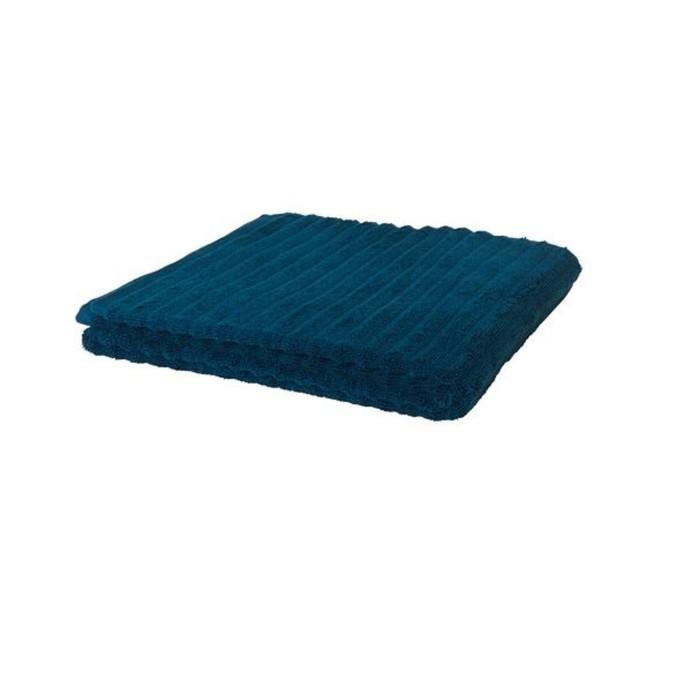Полотенце ФЛОДАРЕН, размер 70 × 140 см, тёмно-синий