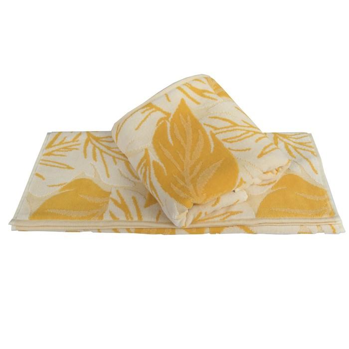 Полотенце Autumn, размер 100 × 150 см, жёлтый