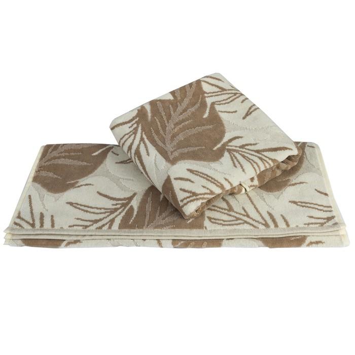 Полотенце Autumn, размер 100 × 150 см, песочный