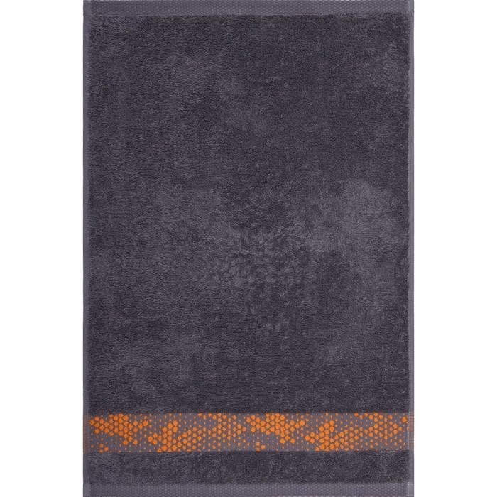 Полотенце махровое Element 40х60 см, 18-5210 серый, хлопок 100%, 415 гр/м2