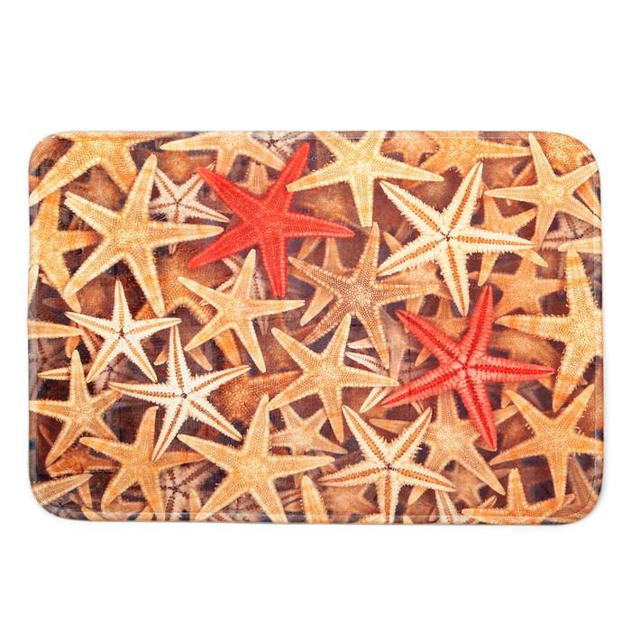 """Коврик для ванной """"Морские звёзды"""""""