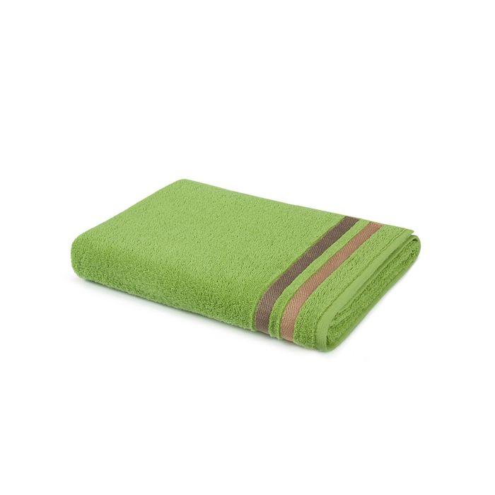 Полотенце, размер 50 × 90 см, зелёный702465